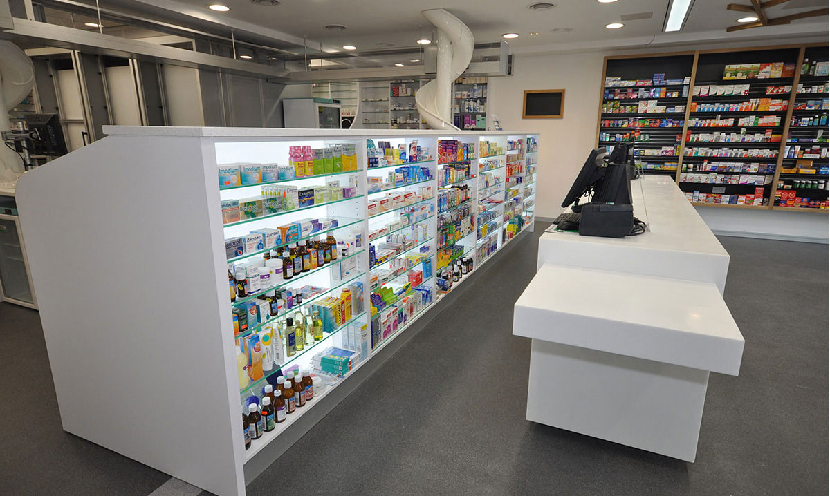 Counters & Dispensary